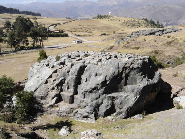 Another limestone massif near Sacsayhuaman